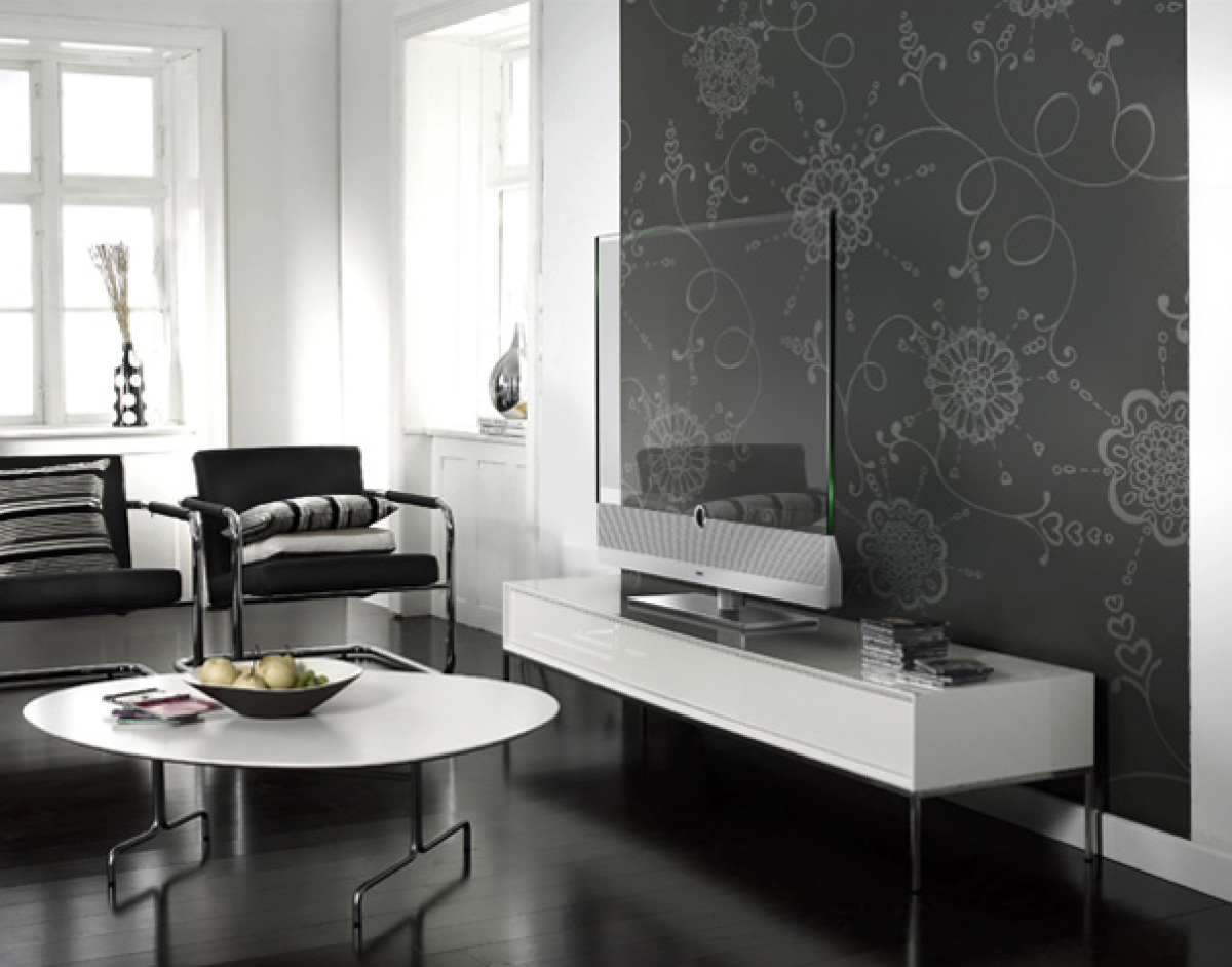 transparent hdtv loewe invisio is the future but it 39 s not. Black Bedroom Furniture Sets. Home Design Ideas