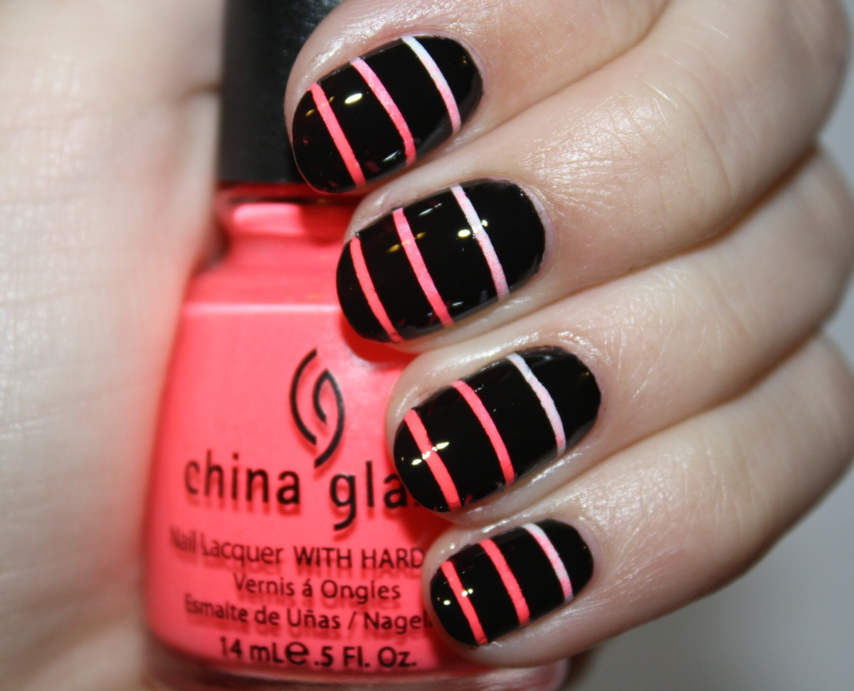 Easy Nail Striper Designs : Diy nail ideas striped art of our weekend
