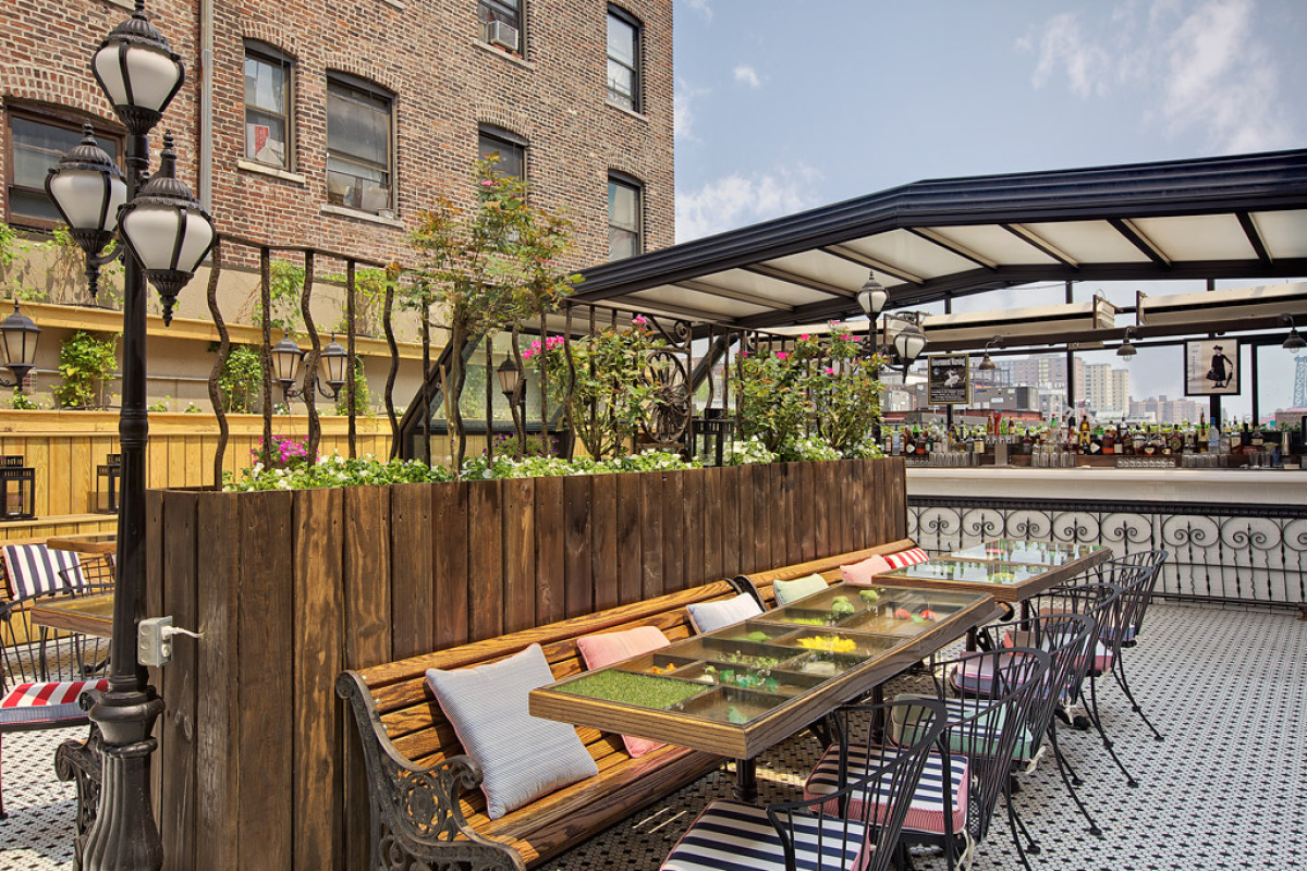 Best Rooftop Bars In New York PHOTOS