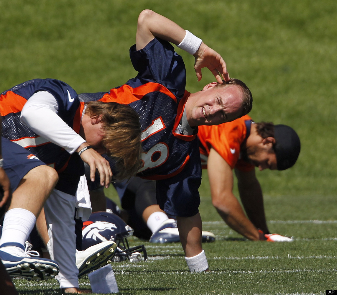 Broncos Caption Contest: What's Going On Here?