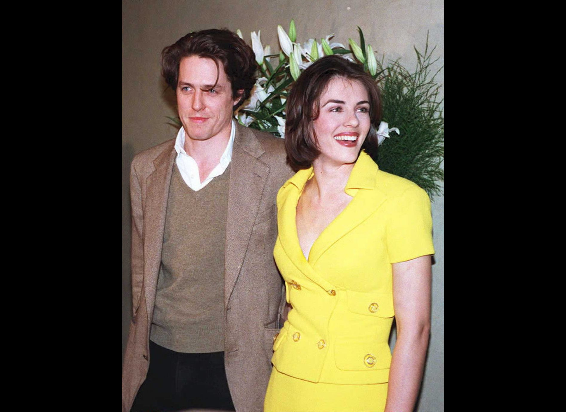 Hugh Grant And Elizabe...