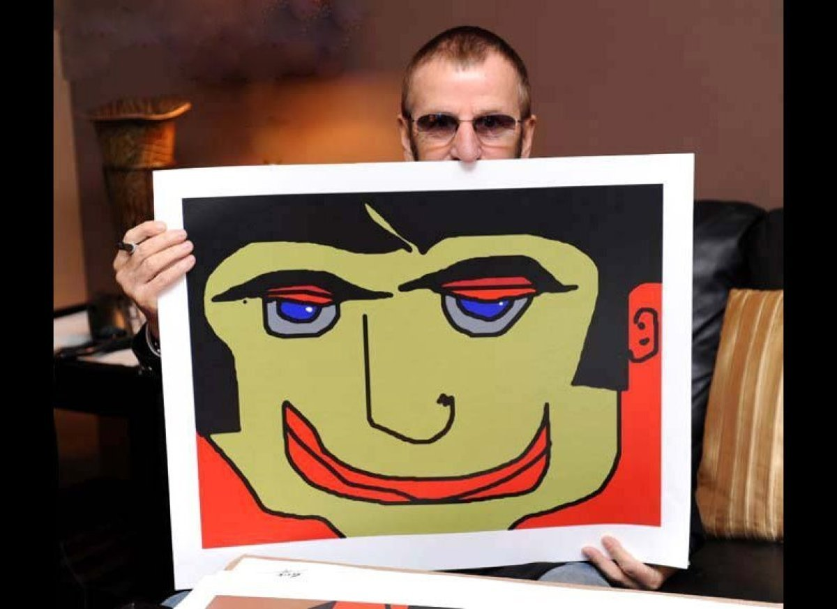 Ringo Starr Talks His Artwork, Favorite Artist And MS ...