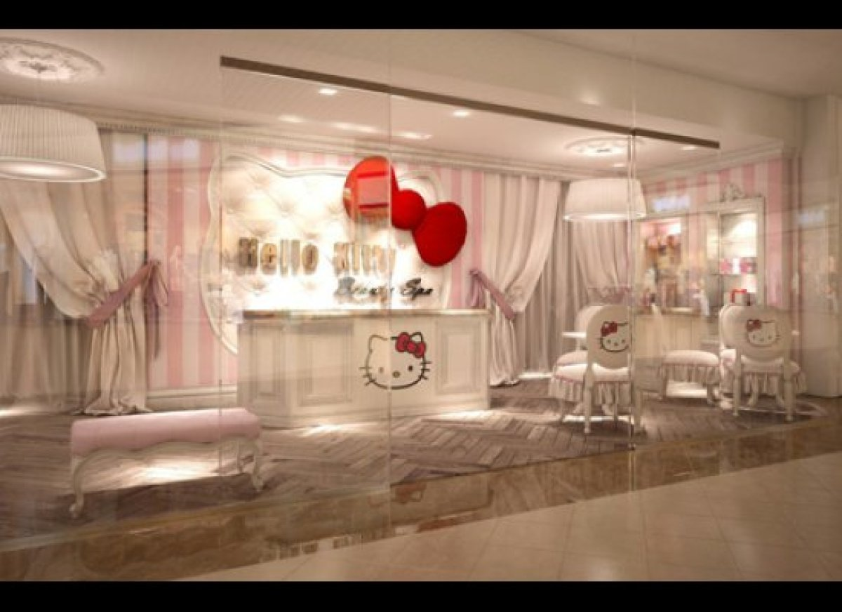 Hello kitty spa world 39 s first opens in dubai photos for Salon de dubai