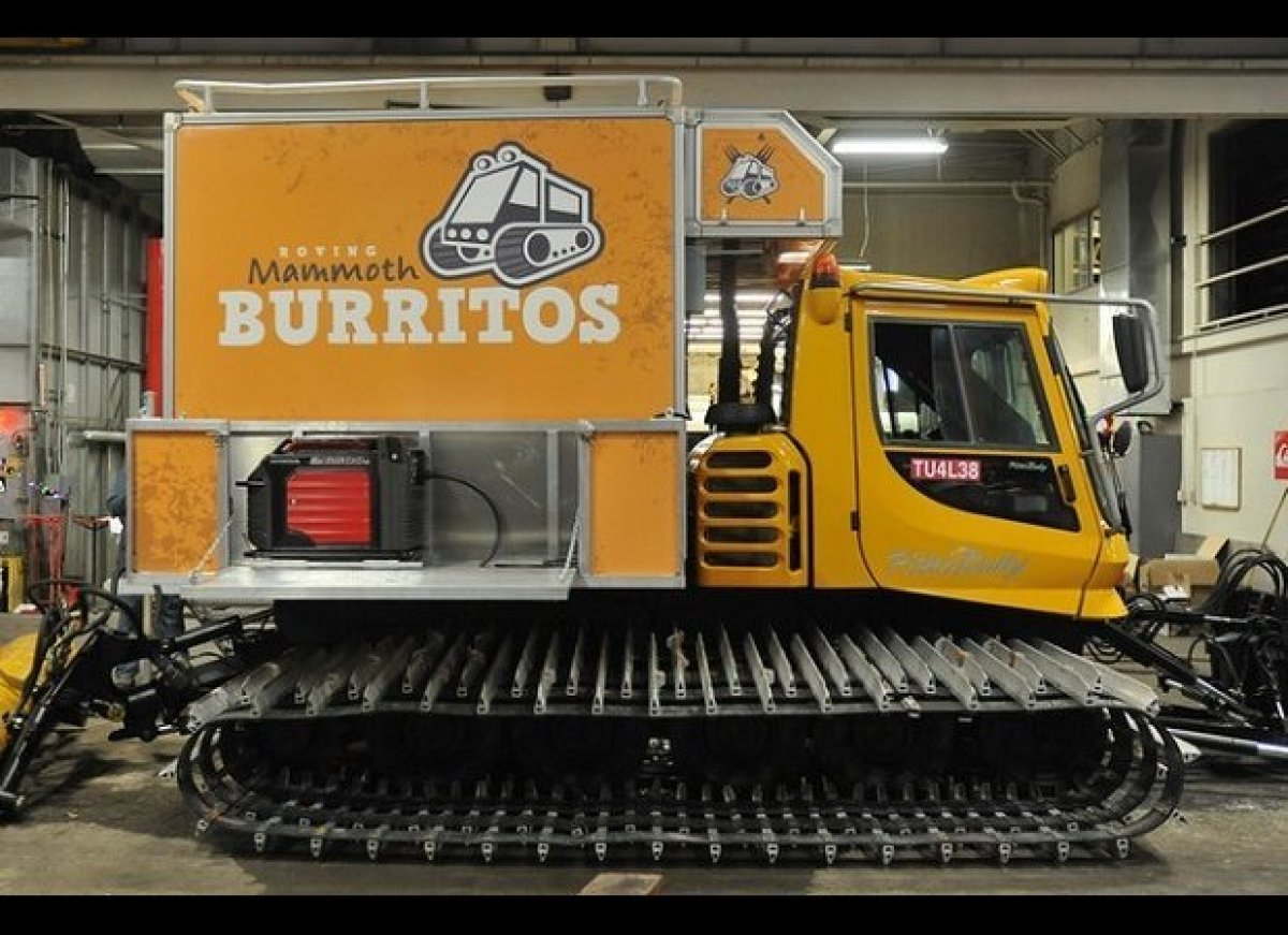 The coolest food trucks ever huffpost for Cool food truck designs