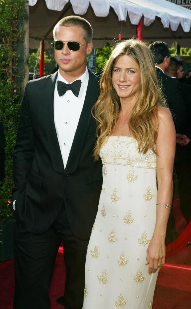 Jennifer Aniston And Brad Pitt 2013 Selma Blair Lea...