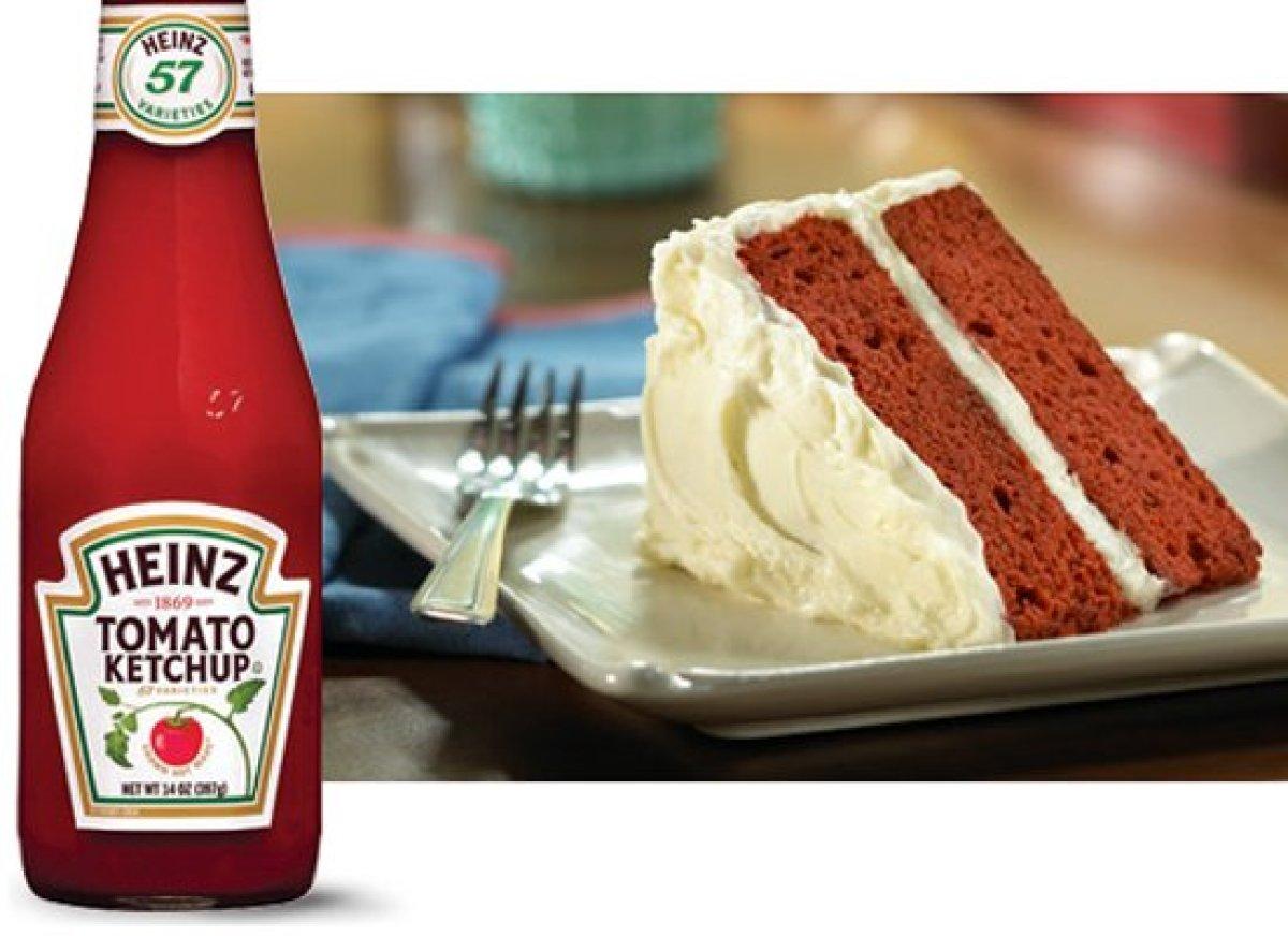 Heinz Tomato Ketchup Cake Recipe