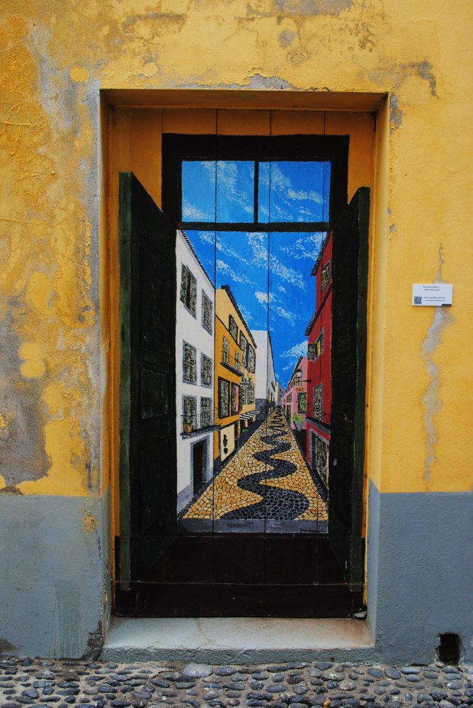 opening doors with art in madeira portugal huffpost