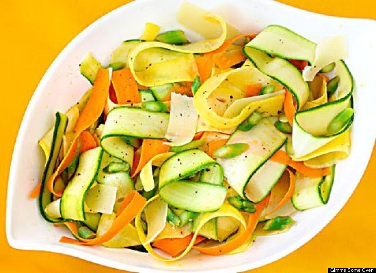 Ribbon Salad Recipes: Cucumber, Zucchini, Asparagus And More ...