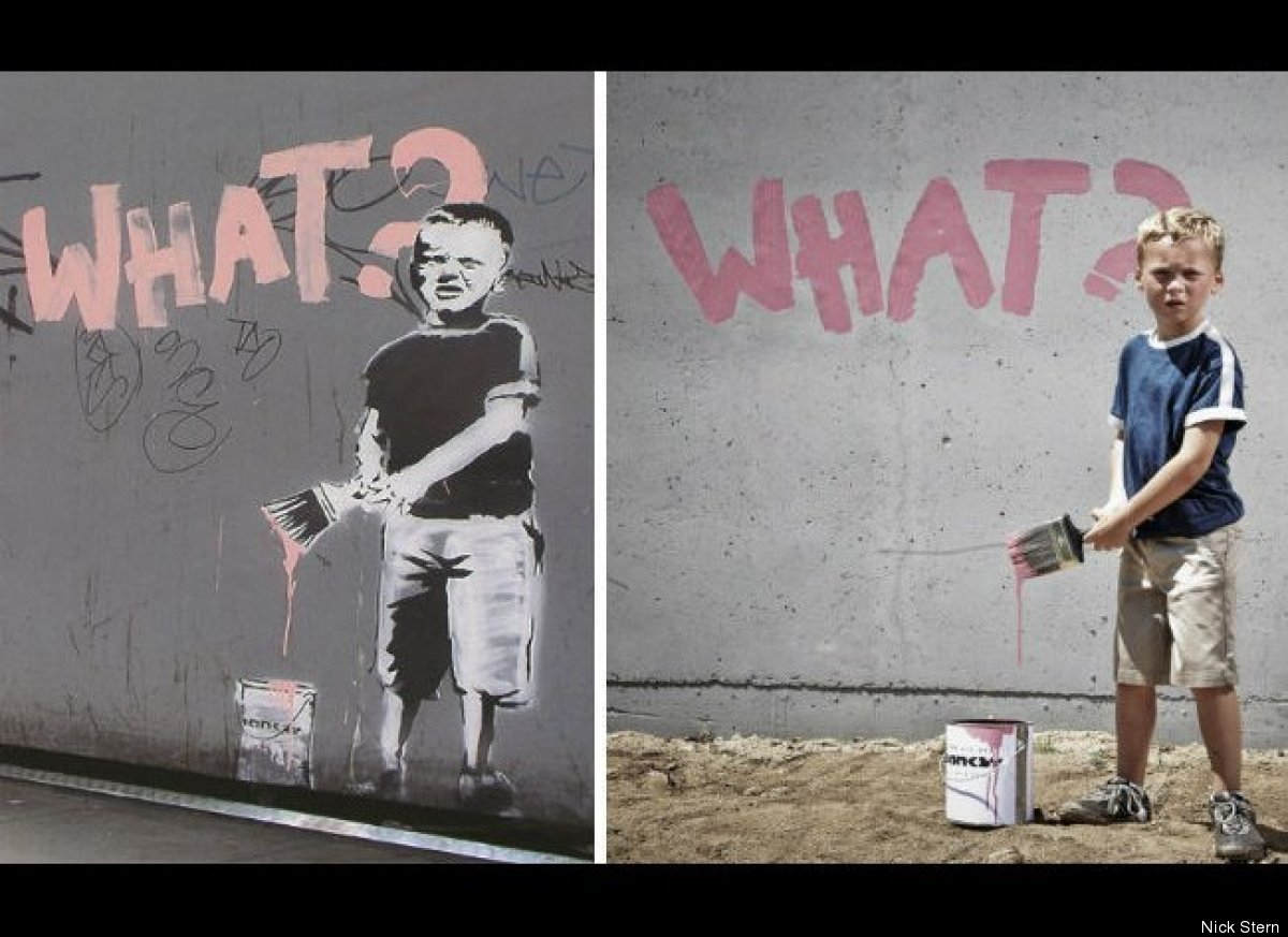 Banksy Famous Paintings Famous Banksy Artwork Famous
