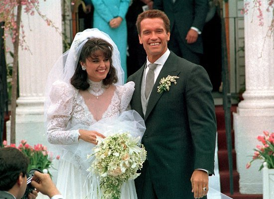 Maria Shrive and Arnold Schwarzenegger's marriage picture