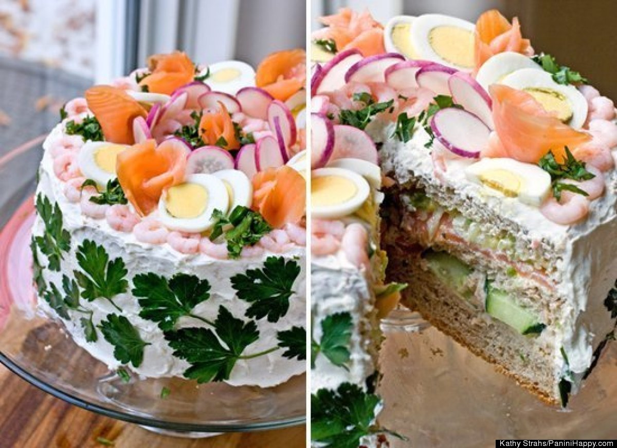 Tuna Birthday Cakes