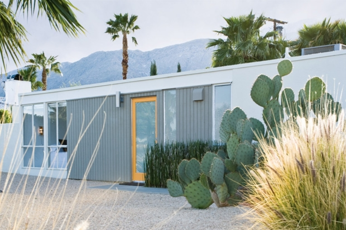 House Our Dana Benoit And Steve Johnsons Palm Springs