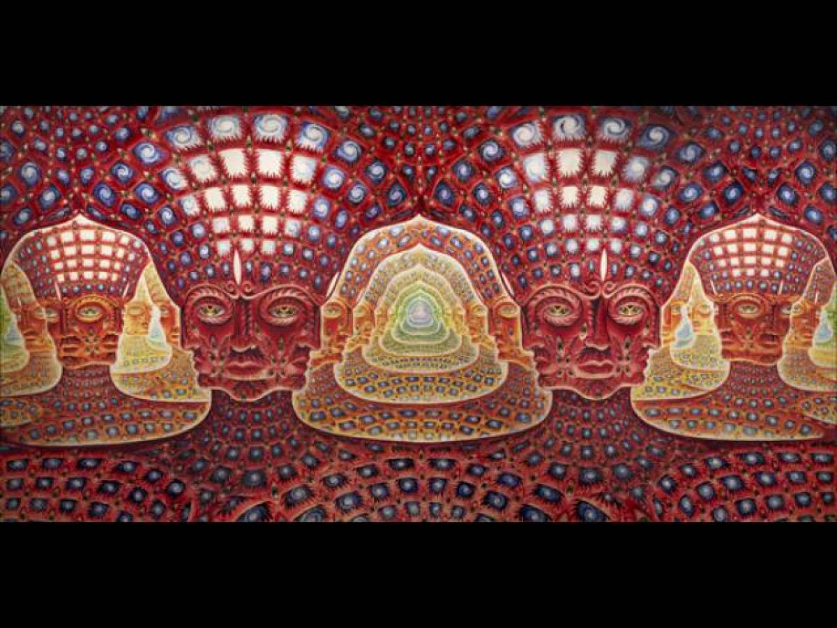 Nets Of Being Alex Grey S Visionary Art Huffpost