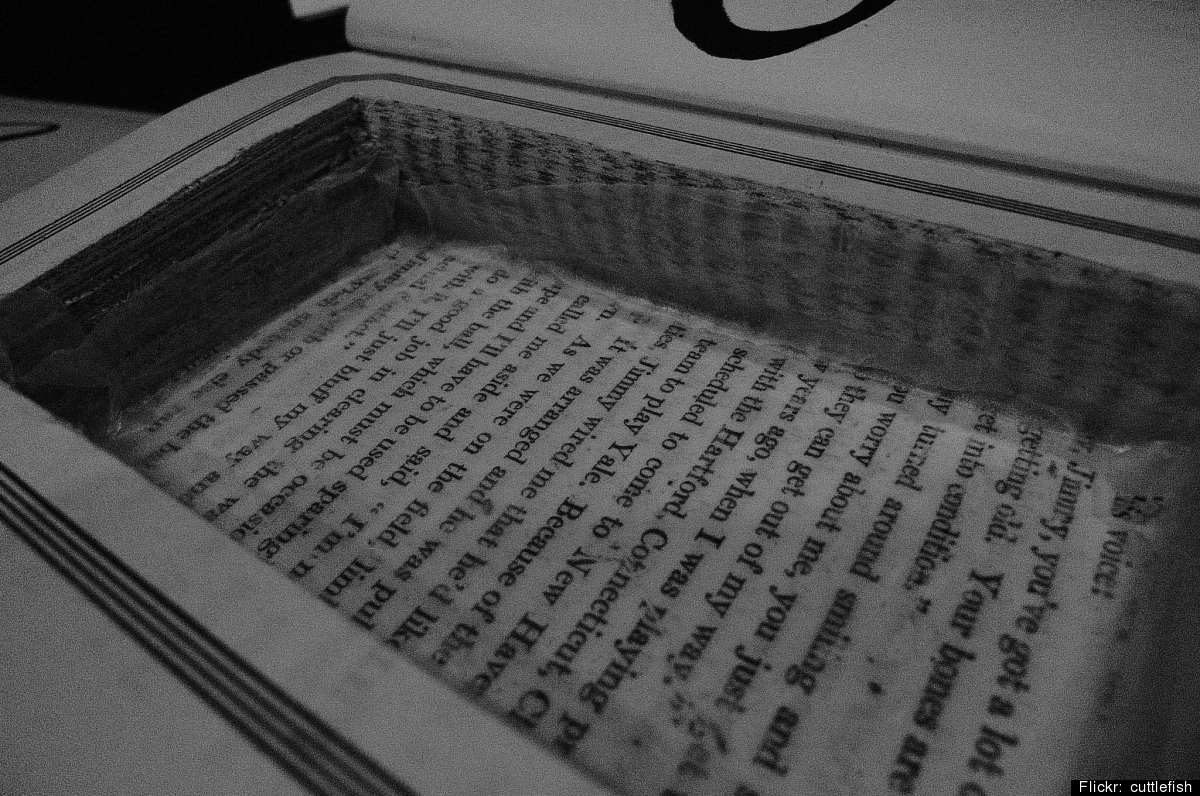 Old book projects how to reuse novels non fiction and for How to reuse old books