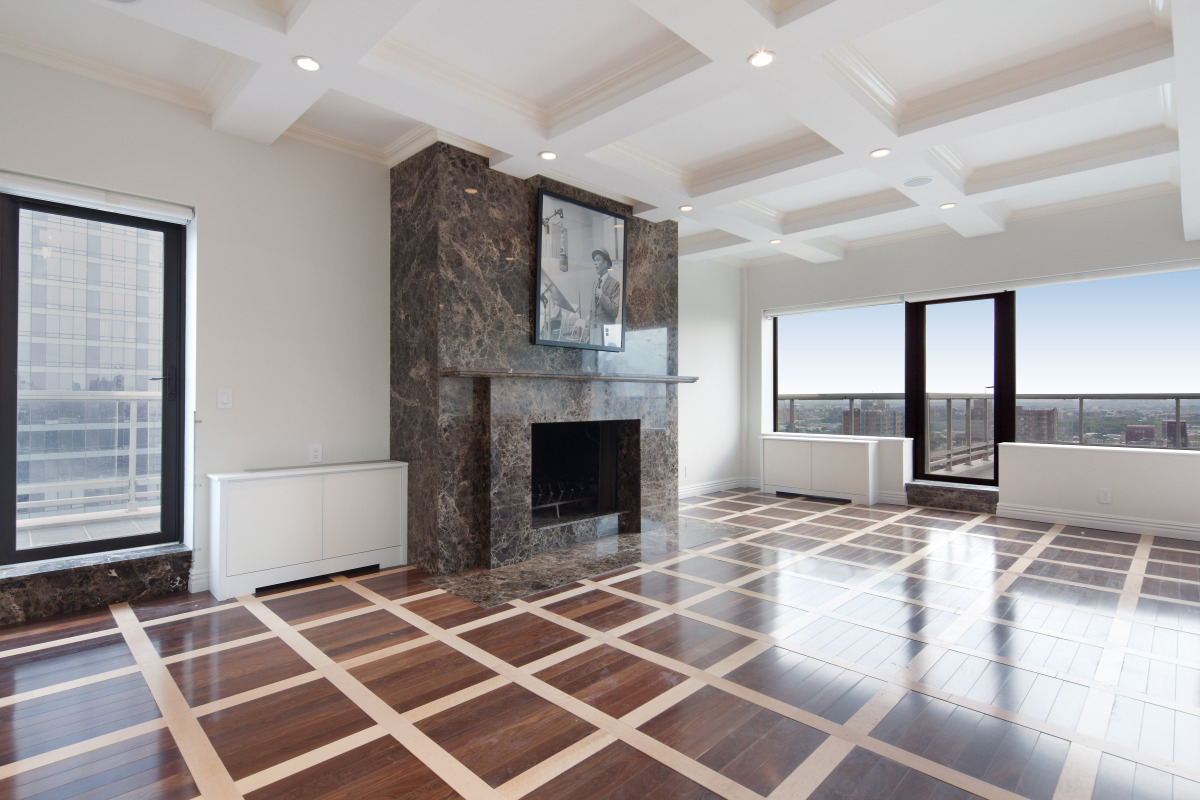 Empty Apartments Inside frank sinatra's apartment at 530 east 72nd street on sale for $7.7