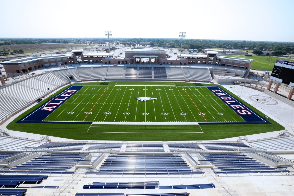 Lewisville High School Football Stadium High School Football Venue
