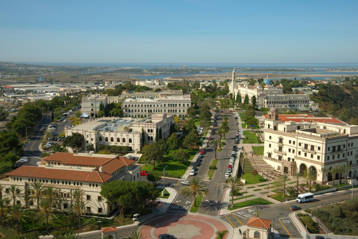University of San Diego , San Diego, California