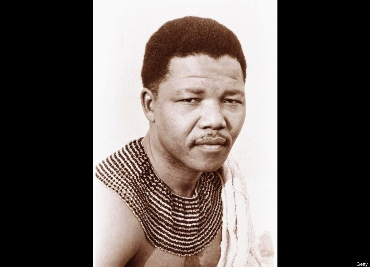 nelson mandel Nelson mandela in traditional dress in 1950 photograph: apic/getty images his birth, into the royal house of the thembu people, was central to the man.