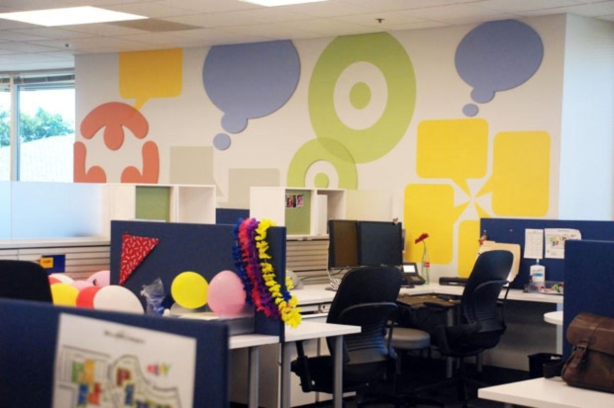 A Peek Inside The eBay Office In San Jose Modern Design Open