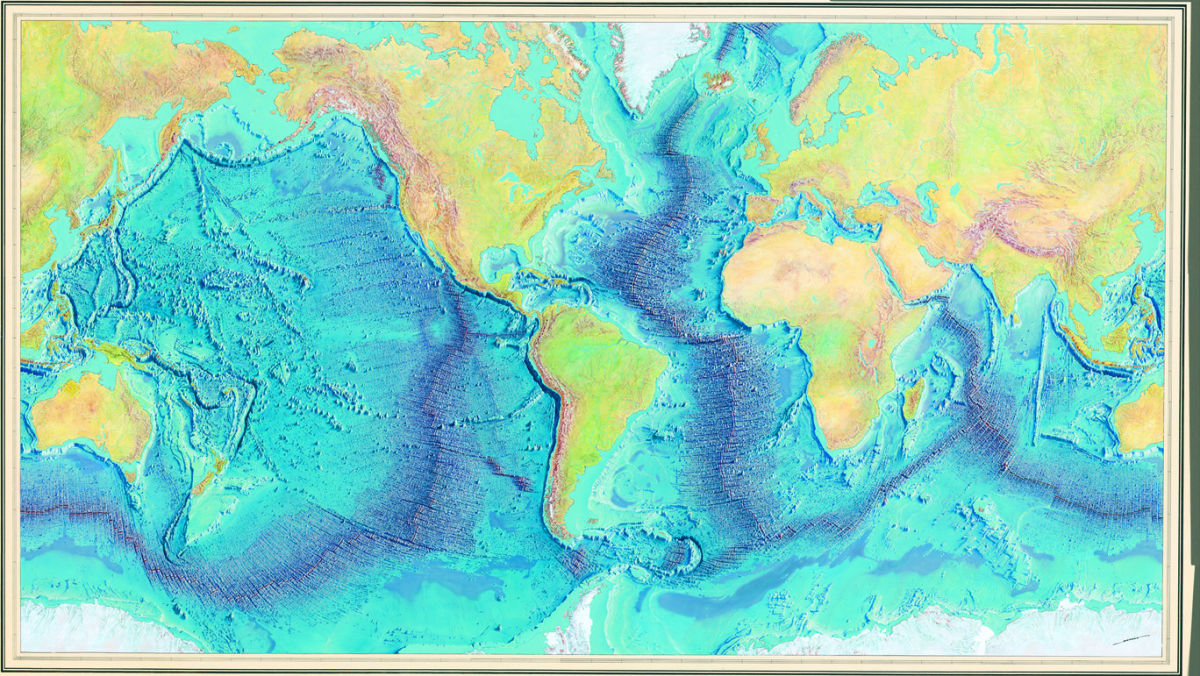 Geogarage Blog Marie Tharp The Woman Who Mapped The Ocean Floor