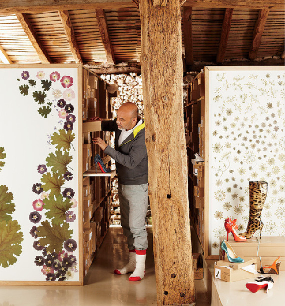 House Tour: Christian Louboutin's House In France Holds ... Christian Louboutin
