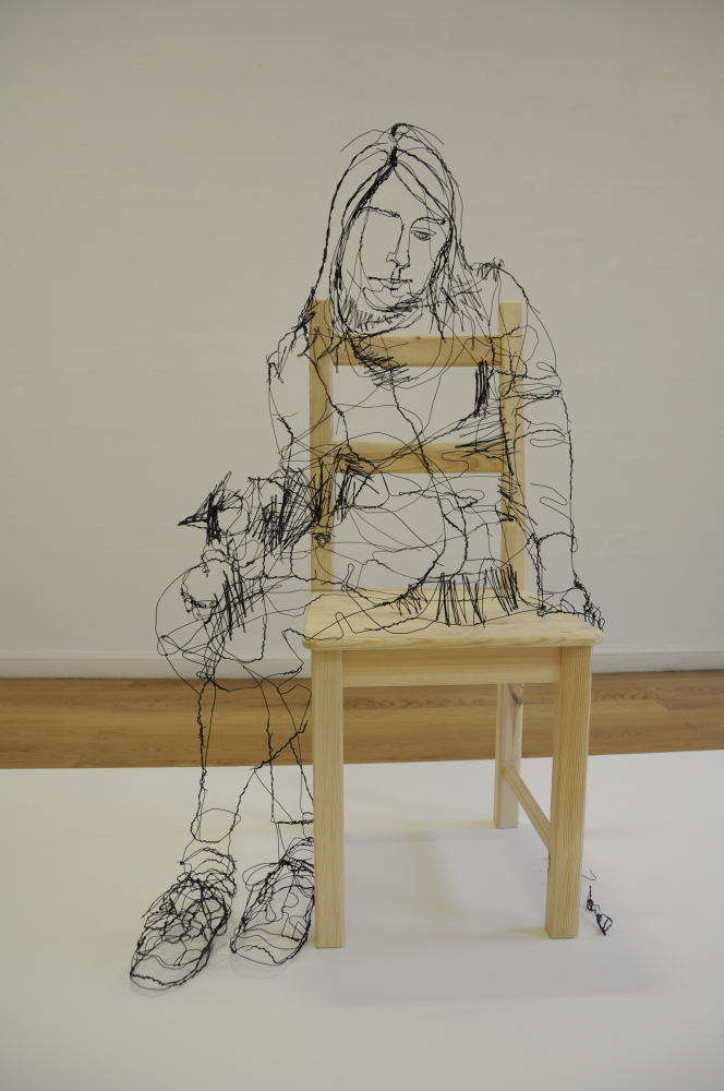 David oliveira draws pictures with wire huffpost uk 3d drawing website