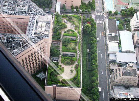 Roof Garden St. Luke International Hospital