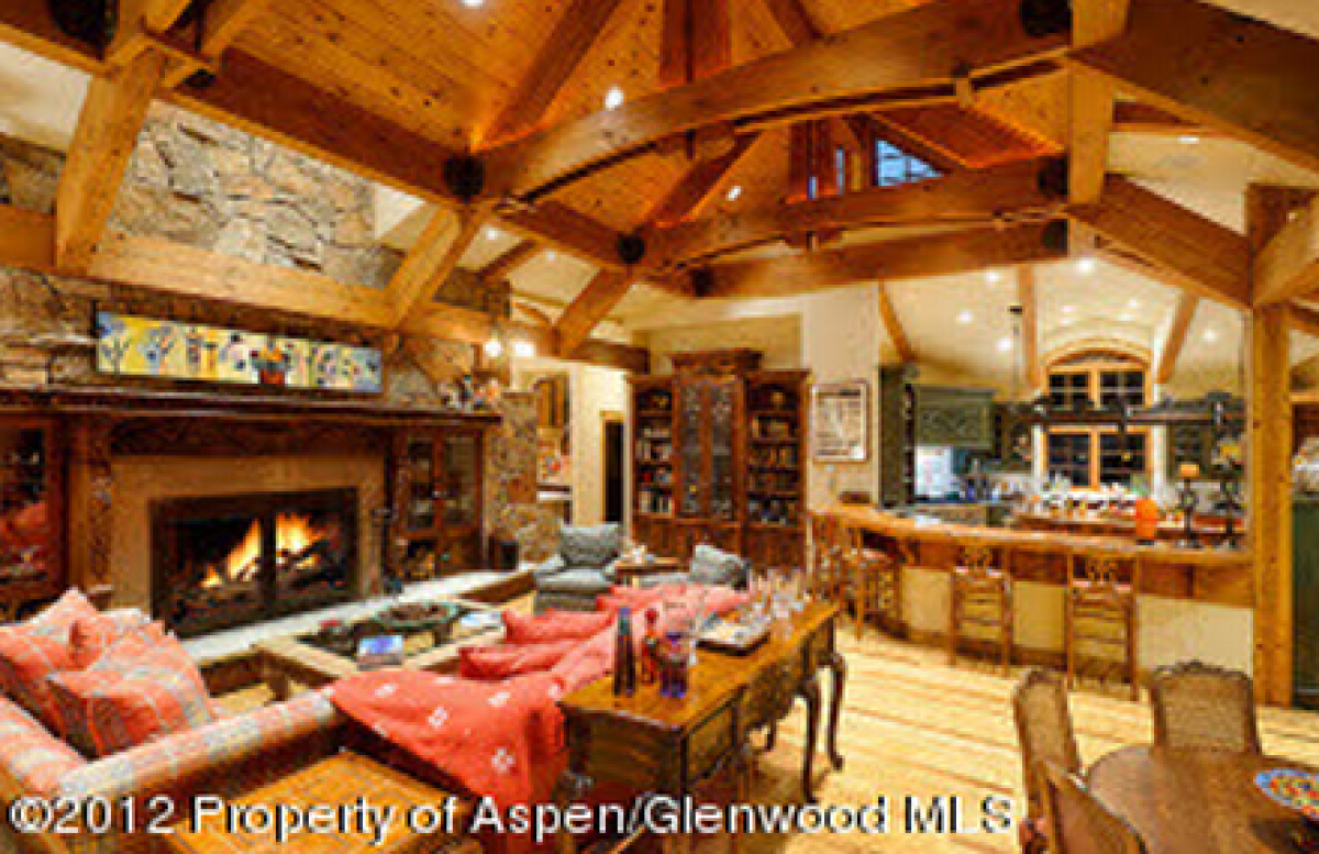 Top 10 most expensive mountain cabins in colorado for Top ten home builders