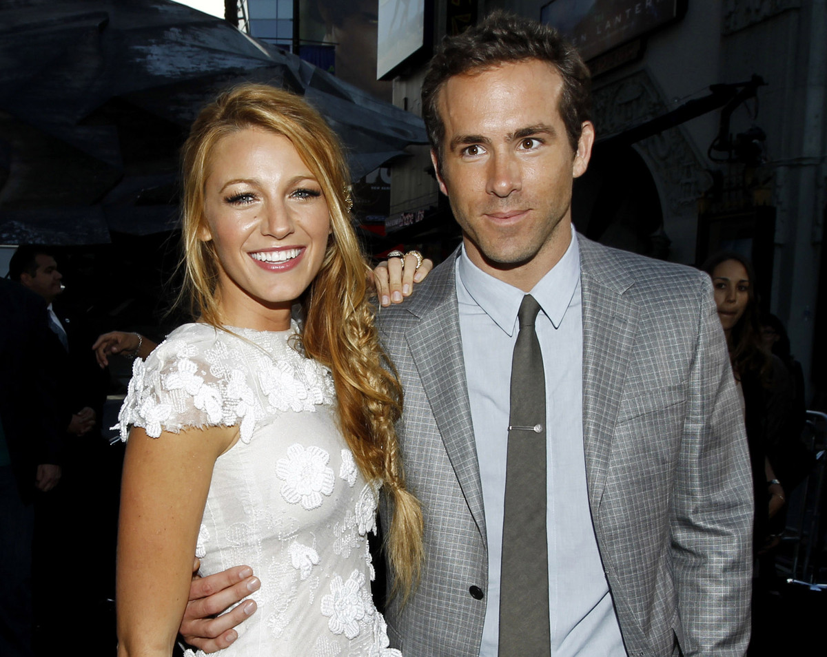Ryan Reynolds And Blake Lively Blake Lively, Ryan Rey...