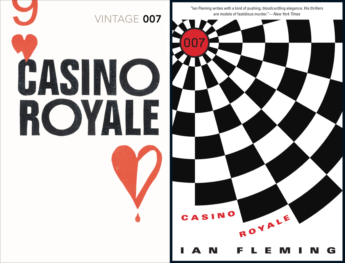 James bond books new designs from amazon and vintage go head to head