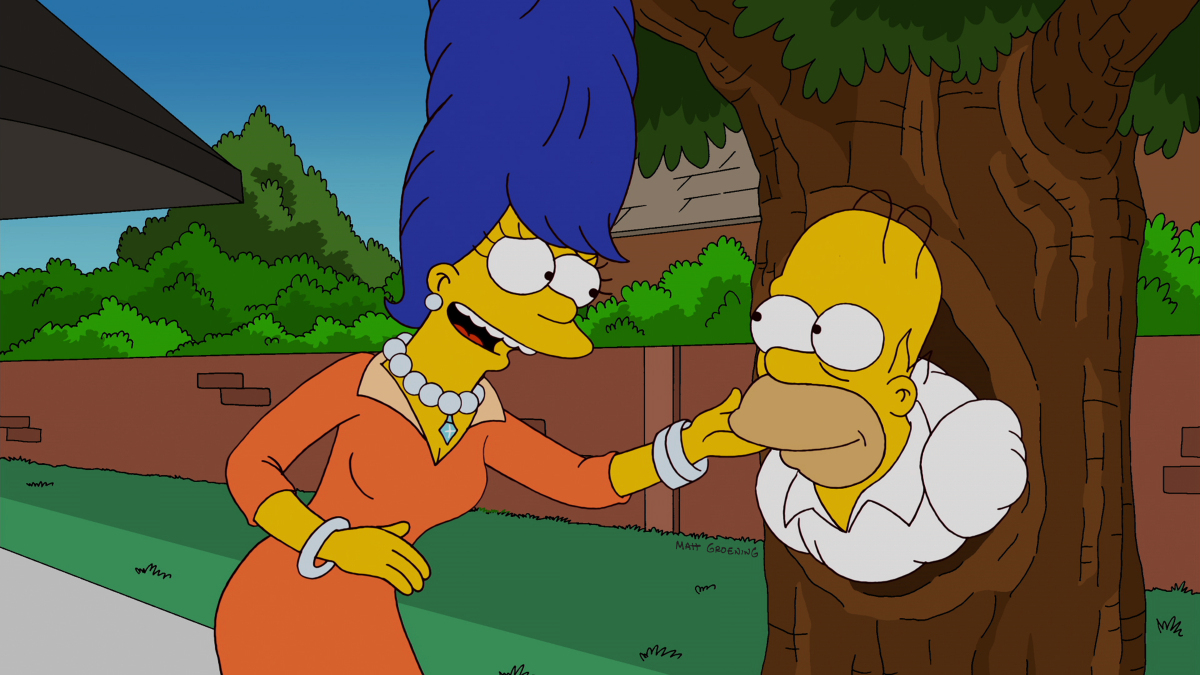 the simpsons treehouse of horror 2014 ending a relationship