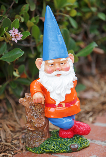 Gnome In Garden: Zombie Lawn Gnomes Gnaw On Flamingo And 13 Other Crazy