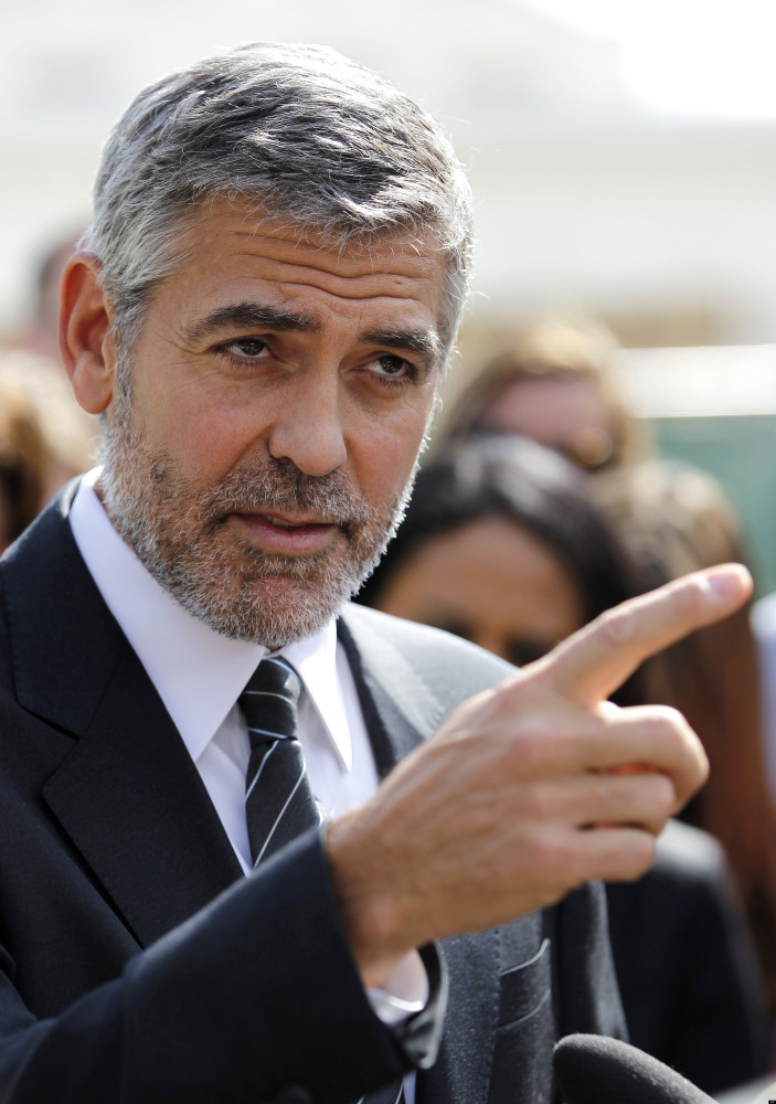 from Jovani george clooney gay marriage