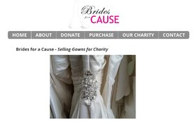 donate wedding dress to charity cause