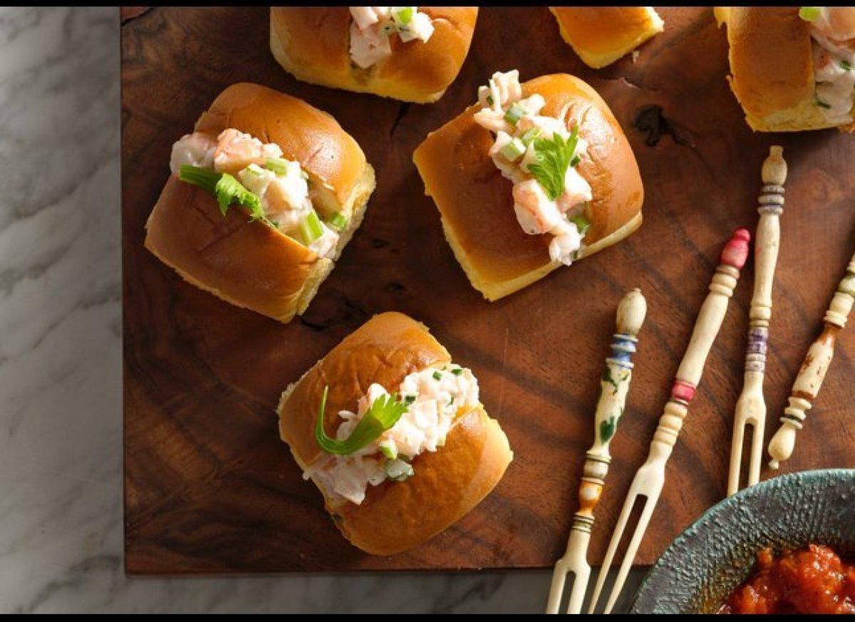 shrimp mixture you made in advance get the recipe mini shrimp rolls ...