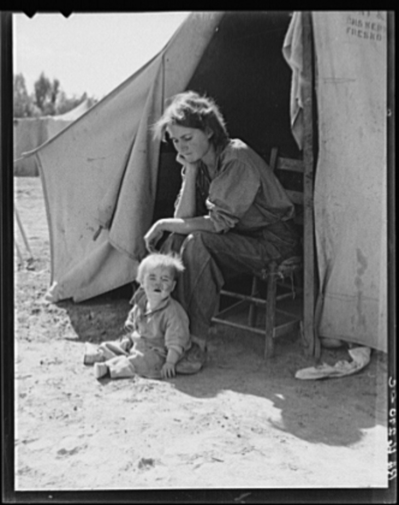 Faces Of The Great Depression Photos Huffpost