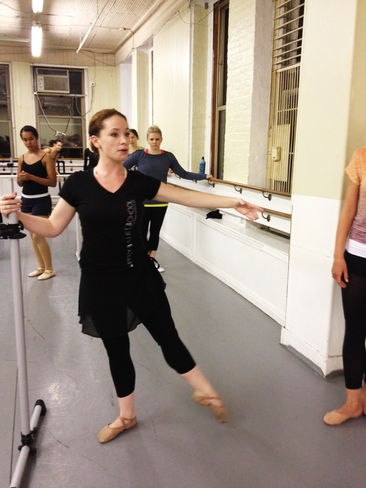 Beginners ballet for adults nyc