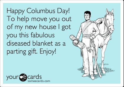 Why is christopher columbus bday is celebrated?