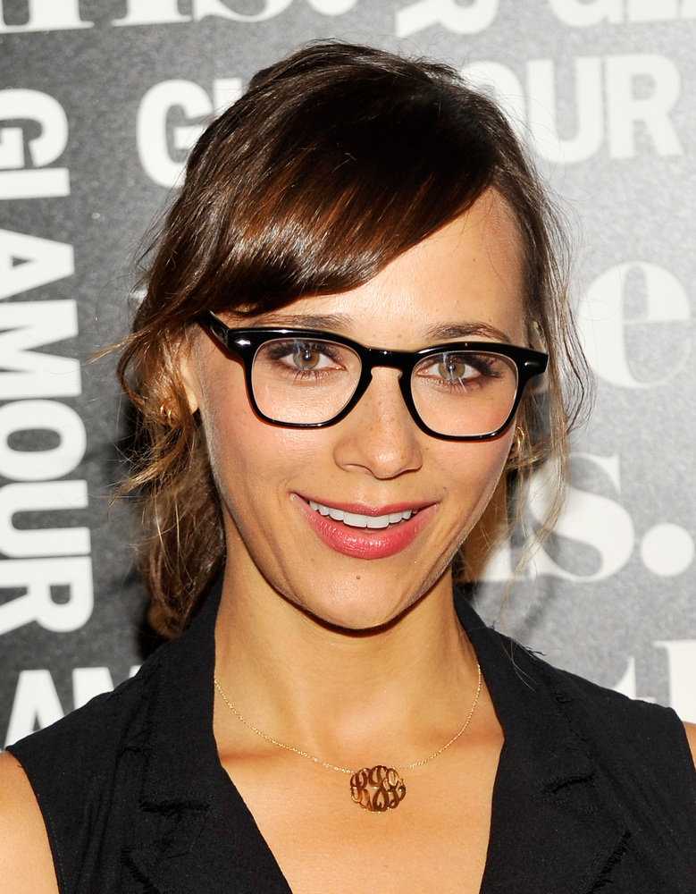 Black Frame Glasses Celebrities Wear : Ditch Your Fake Eyelashes And Wear These Clever Glasses ...