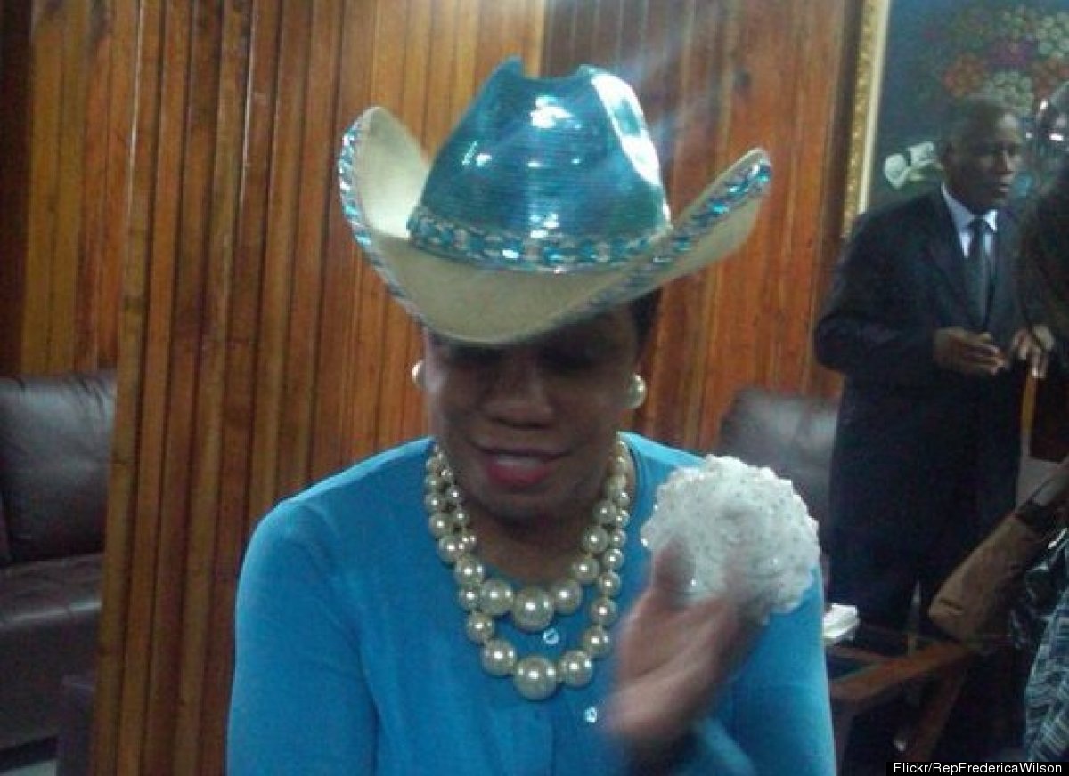 frederica wilson s 20 most memorable hats photos huffpost