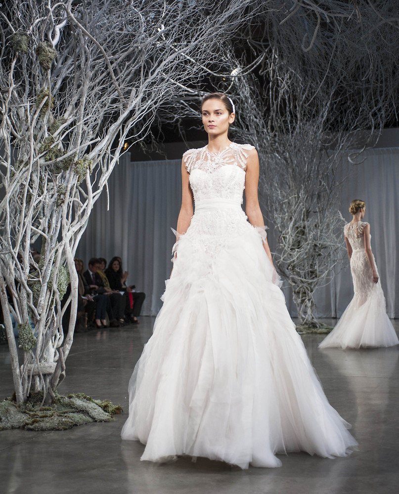 monique lhuillier bridal designer talks fall 2013