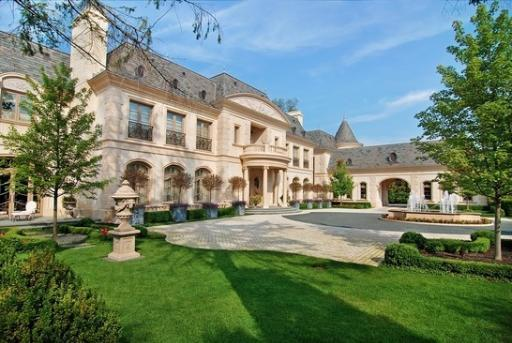 Winnetka 39 le grand reve 39 listed at 5 million discount for Mansions for sale in chicago