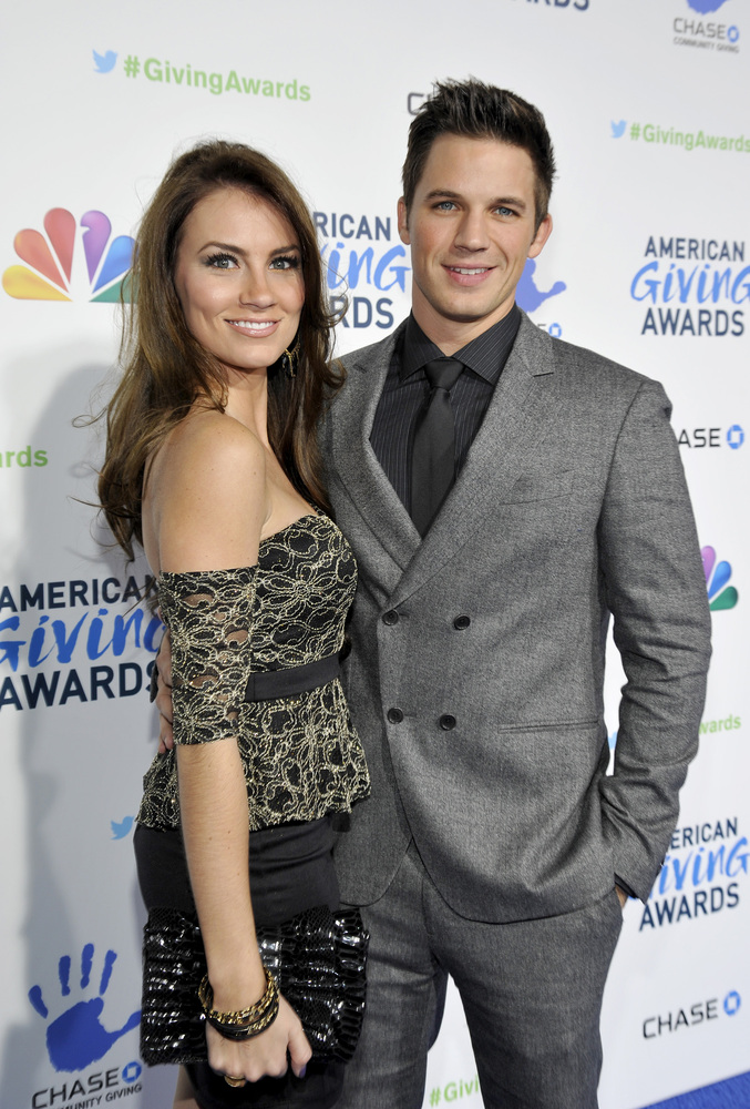 Matt Lanter currently married to Angela Stacy