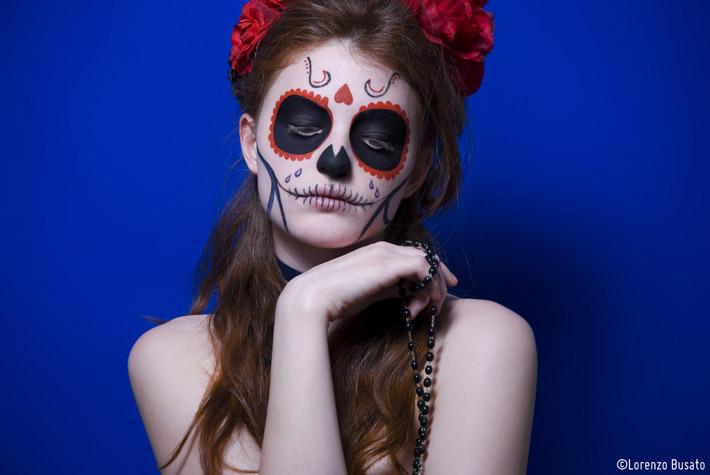 Maquillaje como La Catrina