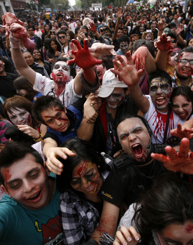 Our zombies, ourselves: exiting the Foucauldian Universe in George A. Romero's Land of the Dead.