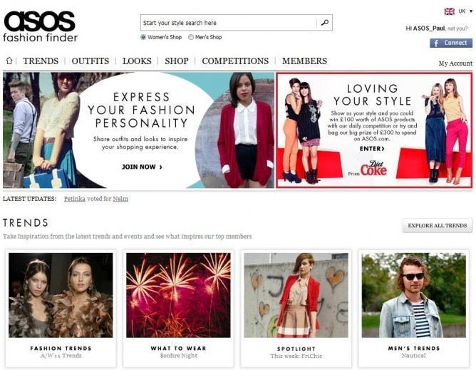 ASOS.com is the UK's largest online-only style and beauty retail store, carrying over 50,000 branded and own label product lines across womenswear