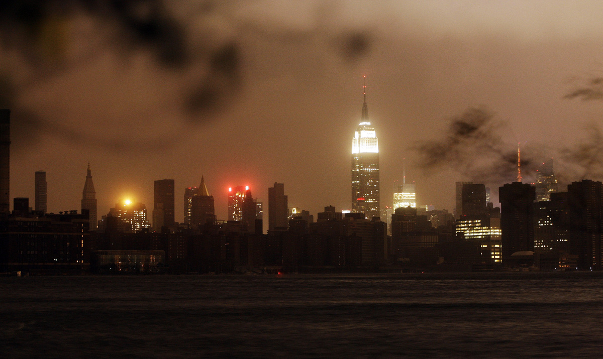 Hurricane Cyclone sandy new york pictures