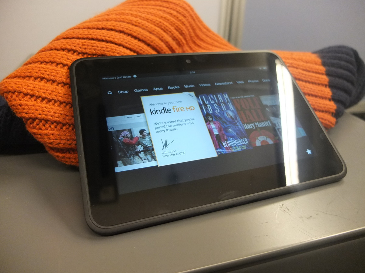 "Kindle Fire HD 7"" Review: Amazon's First UK Tablet Fails"