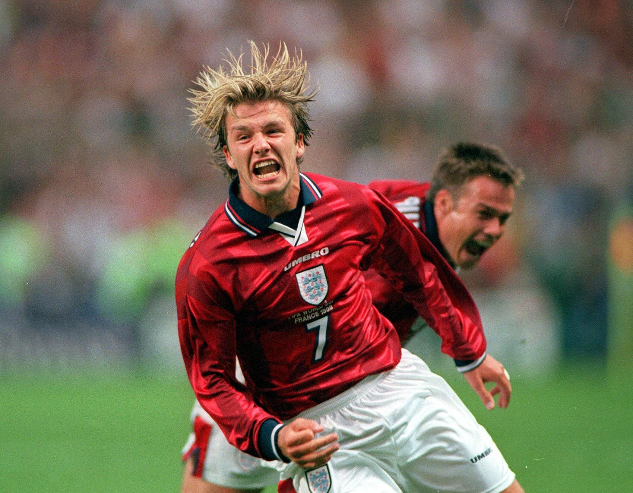 World Cup Beckham Free Kick Beckham's Free-kick