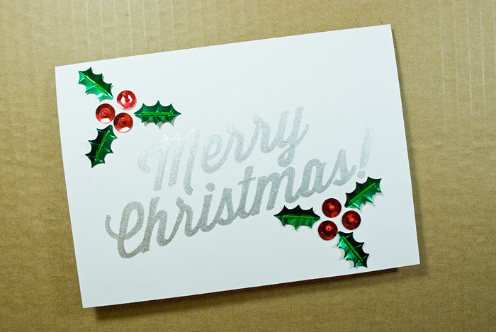 Homemade Holiday Cards: 13 Pretty DIYs To Make And Send ...
